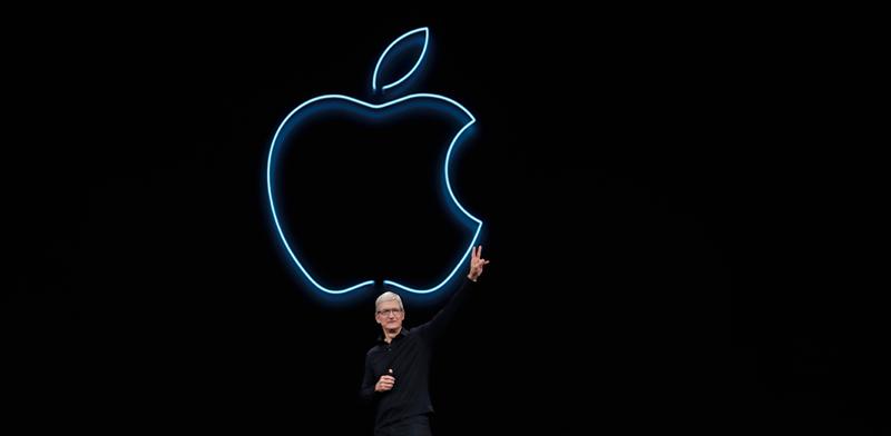 """מנכ""""ל אפל, טים קוק / צילום: AP - Jeff Chiu"""