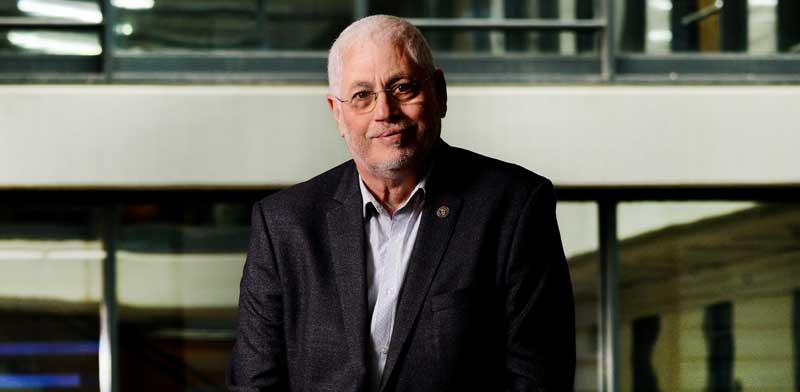 נשיא הטכניון, פרופ' אורי סיון / צילום : איל יצהר
