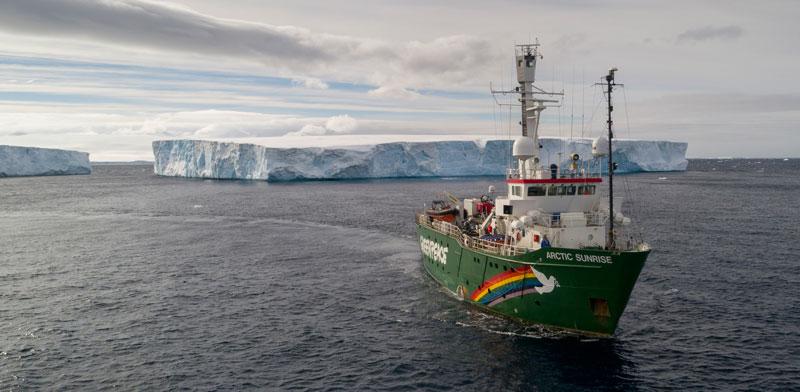 מפרץ שארלוט באנטרקטיקה / צילום: Abbie Trayler-Smith, Christian ?slund - Greenpeace