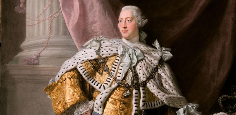 המלך ג'ורג' השלישי. נתן את ברכתו לממשלת האחדות הראשונה / צילום: מתוך ויקימדיה