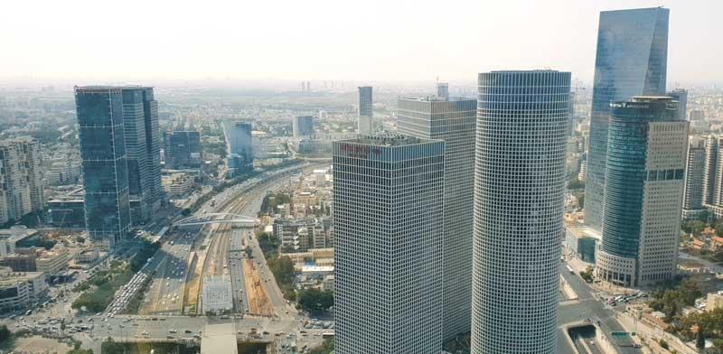 Tel Aviv office towers