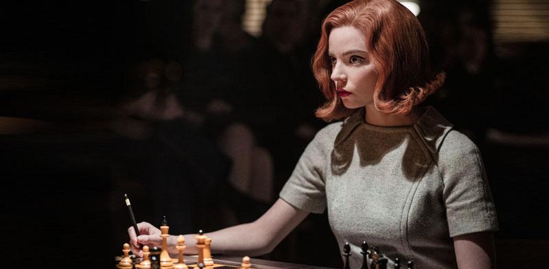 """""""גמביט המלכה"""". מפלצת שחמט מיוסרת / צילום: באדיבות נטפליקס"""