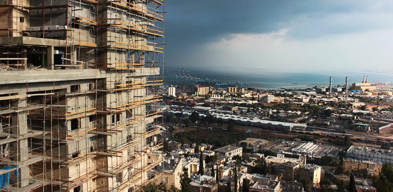 פרויקט מגורים חדש בחיפה / צילום: Shutterstock, א.ס.א.פ קריאייטיב
