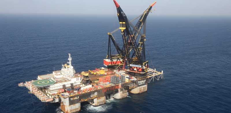 Leviathan gas rig