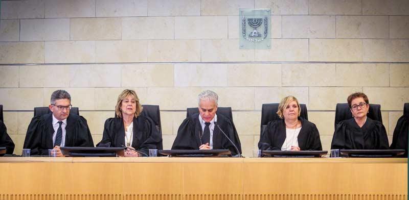 שופטי בית הדין הארצי לעבודה / צילום: שלומי יוסף