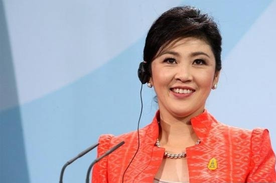 Yingluck Shinawatra / צילום מסך