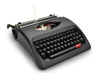 מכונת הכתיבה של Wordsmith / צילום מסך אתר hammacher