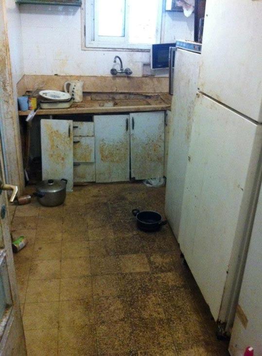ביתו של ניצול שואה / צילום: מתוך הפייסבוק