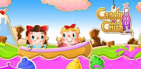 Candy Crush Soda Saga / צילום מסך