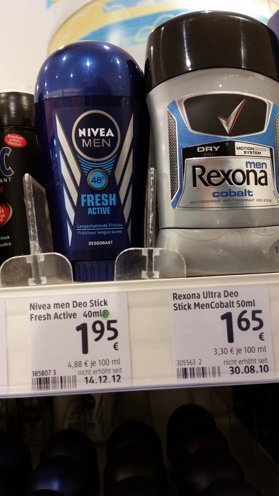 מחירי מוצרים בגרמניה / צילום פרטי