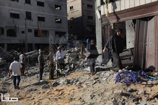 הריסות הבית של מוחמד דף / צילום מסך