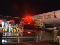 טיסת אמריקן איירליינס / צילום מסך מהוידאו