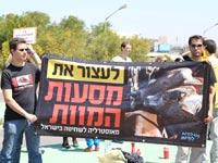 ישראל נגד משלוחים חיים / מתוך הפייסבוק