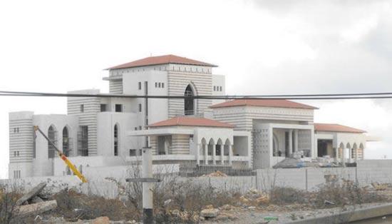 הארמון של אבו מאזן / צילום מסך