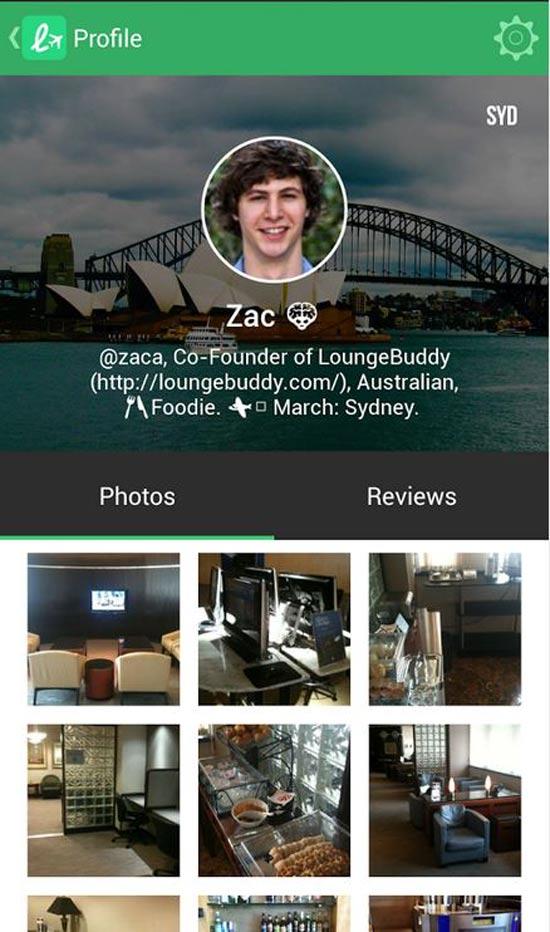 loungebuddy/ צילום מסך