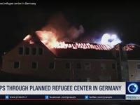 השריפה בבאוצן / צילום: צילום מסך